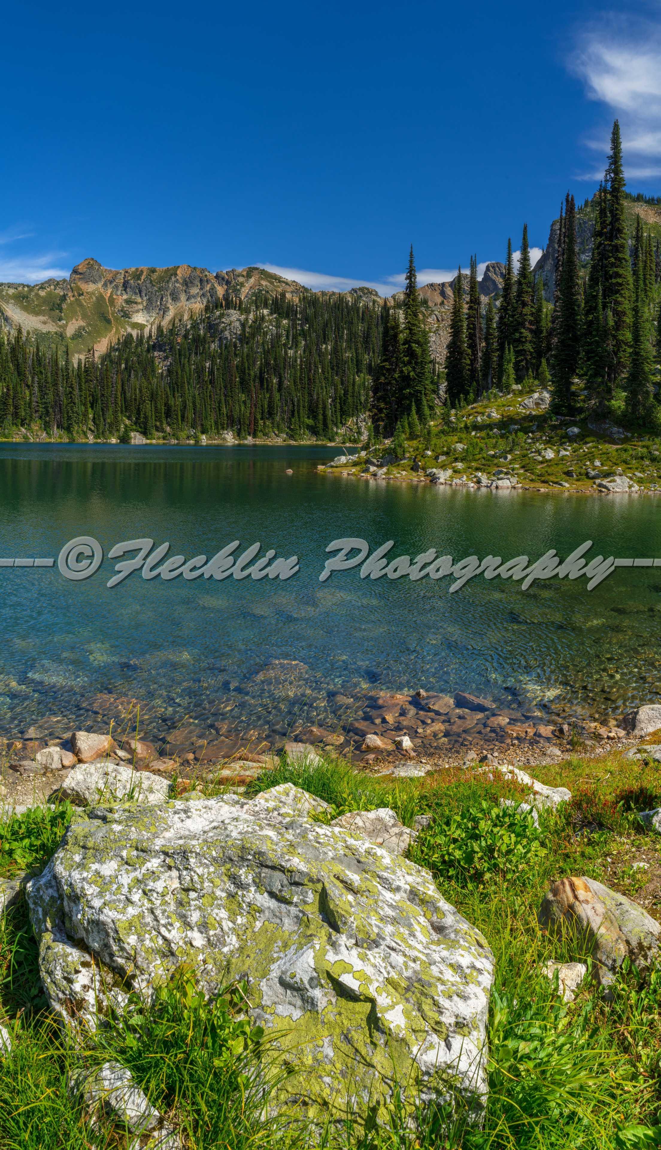 Eva Lake Revelstoke British Columbia Canada Panoramic